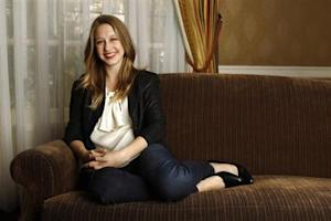 "Cast member Taissa Farmiga poses for a portrait while promoting her upcoming movie ""Higher Ground"" in Los Angeles"