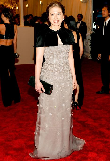 Chelsea Clinton Debuts Reddish Brown Hair Color at Met Ball: Picture