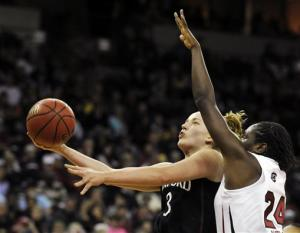 Ogwumike leads No. 1 Stanford to 53-49 victory