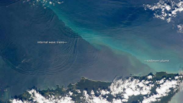 Weird Underwater Waves Spotted from Space