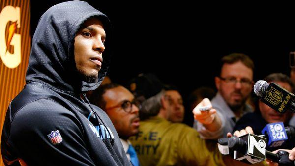 Cam Newton Admits He's A 'Sore Loser' At His Exit Interview