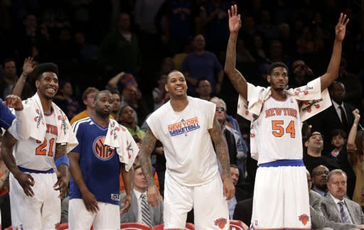 Knicks beat Pacers and clinch No. 2 seed in East