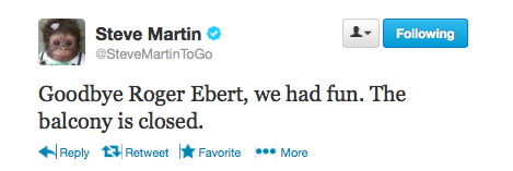 Roger Ebert Death: Hollywood Pays Tribute to the Famed Critic