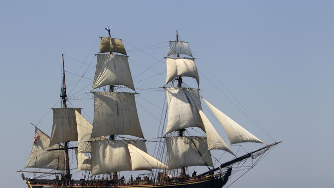 14 rescued, 2 missing from tall ship off NC