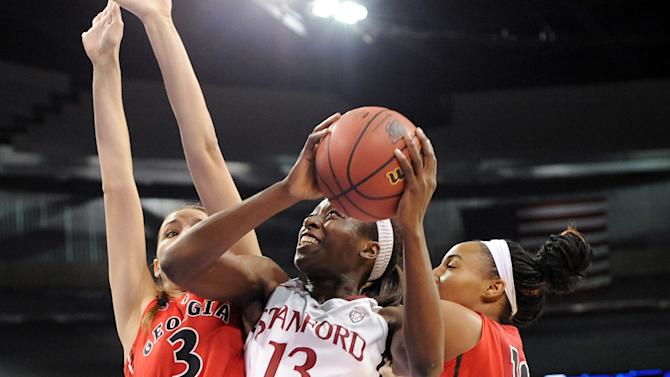 NCAA Womens Basketball: NCAA Tournament-Stanford vs Georgia