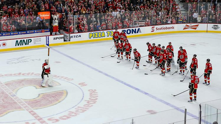 NHL: Anaheim Ducks at Calgary Flames