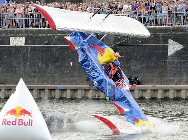 Red Bull Flugtag in Mainz, Germany (Red Bull Content Pool)