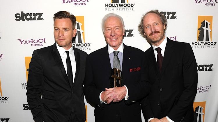 15th Annual Hollywood Film Awards Christopher Plummer Ewan McGregor Mike Mills