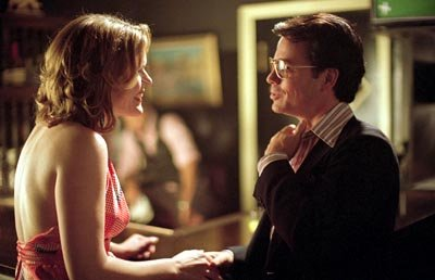 Catherine Dent as the Seattle Secretary and Greg Kinnear as Bob Crane in Sony Pictures Classics' Auto Focus