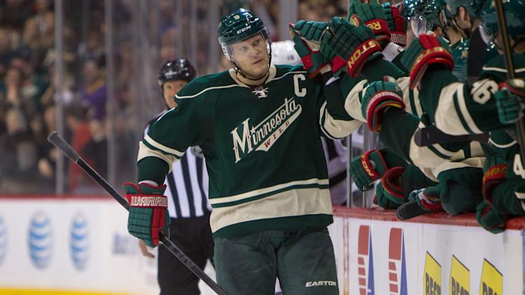 NHL: Los Angeles Kings at Minnesota Wild
