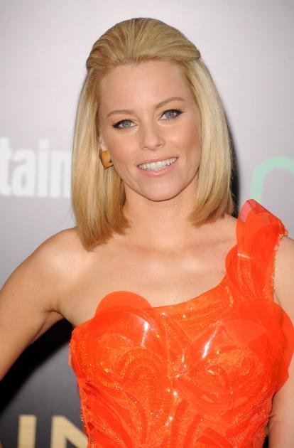 Elizabeth Banks hits 'The Hunger Games' premiere in Los Angeles -- Getty Images