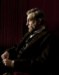 "FILE - This publicity film image released by DreamWorks and Twentieth Century Fox shows Daniel Day-Lewis portraying Abraham Lincoln in the film ""Lincoln."" A Congressman who saw a flaw in the movie ""Lincoln"" says he is pleased the screenwriter has conceded an inaccuracy in its portrayal of an 1865 vote on slavery. U.S. Rep. Joe Courtney, a Democrat who represents eastern Connecticut, said Friday, Feb. 8, 2013, he is still hoping that a correction can be made before the film is released on DVD. (AP Photo/DreamWorks, Twentieth Century Fox, David James, file)"