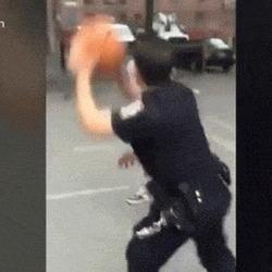This Sure Looks Like NYPD Cops Dominating A Pickup Game