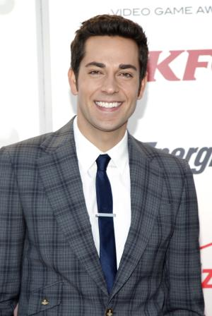 Zachary Levi arrives at Spike TV's Video Game Awards on Saturday, Dec. 10, 2011, in Culver City, Calif. (AP Photo/Joe Kohen)