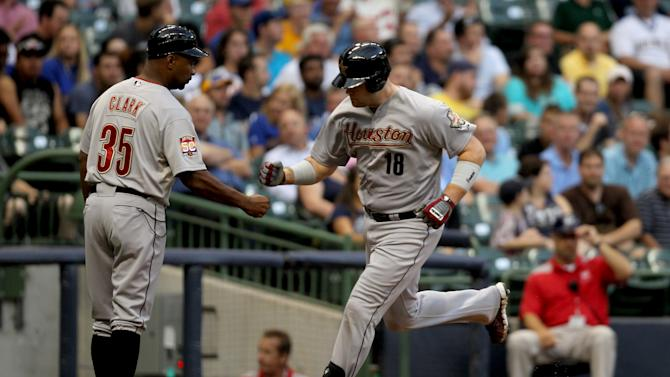 Houston Astros v Milwaukee Brewers