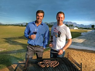 Jan Braai and Ryk Neethling's super-deluxe boerewors rolls, National Braai Day