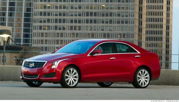 The Cadillac ATS takes aim at the segment-leading BMW 3 Series.