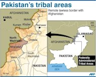 Map of Pakistan's tribal areas locating North Waziristan, which borders Afghanistan. Al-Qaeda's number two Atiyah abd al-Rahman was killed in the northwest tribal Waziristan area on August 22, US officials say