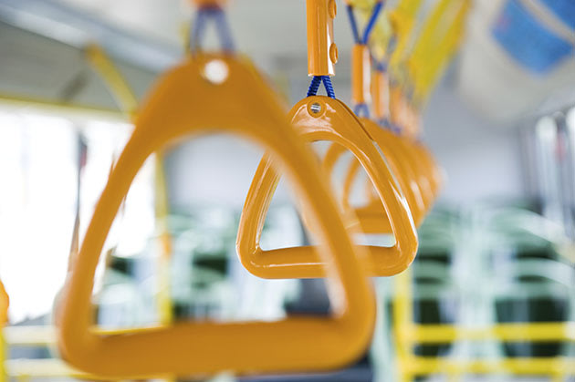 Bus handle (Thinkstock)