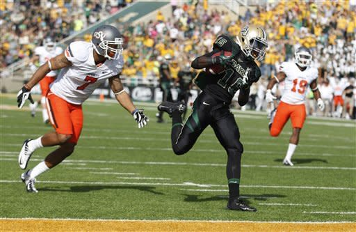 Seastrunk, Baylor hold off No. 24 Oklahoma State