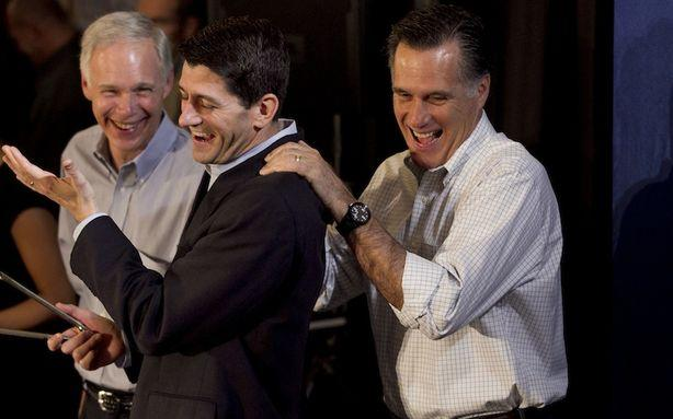 Did Mitt Romney Learn His '47 Percent' Line from Paul Ryan?