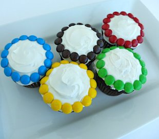 Olympics-inspired cupcakes: Two medal-worthy decorating ideas  