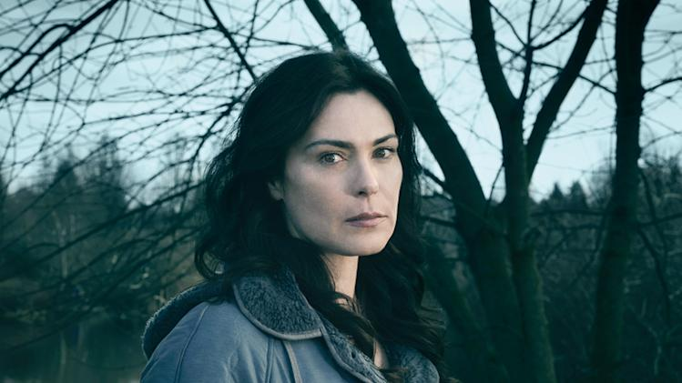"Michelle Forbes stars as Mitch Larsen in ""The Killing."""