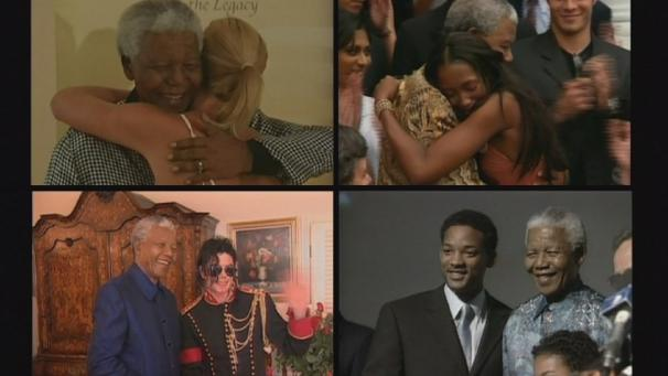 Celebrities remember Mandela