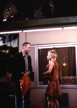 Vince Vaughn as Norman Bates and Anne Heche as Marion Crane in Universal's Psycho