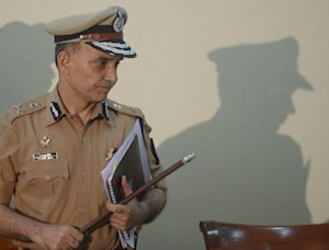Mumbai city Police Commissioner Satyapal Singh leaves …