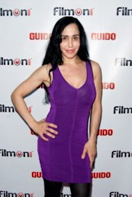 Suleman at the Los Angeles screening of