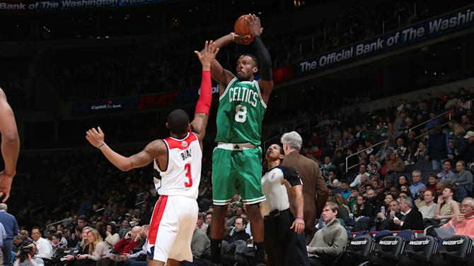 Undermanned Celtics beat Wizards 113-111 in OT