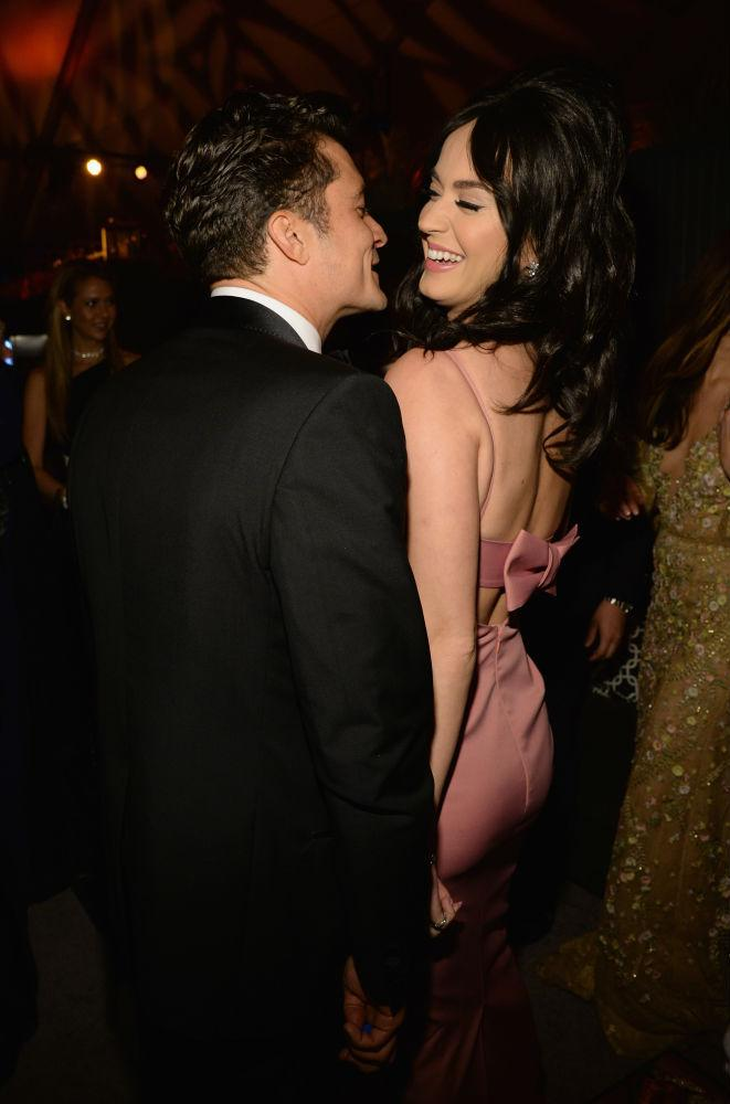 Katy Perry Parties With Orlando Bloom And His Son Flynn