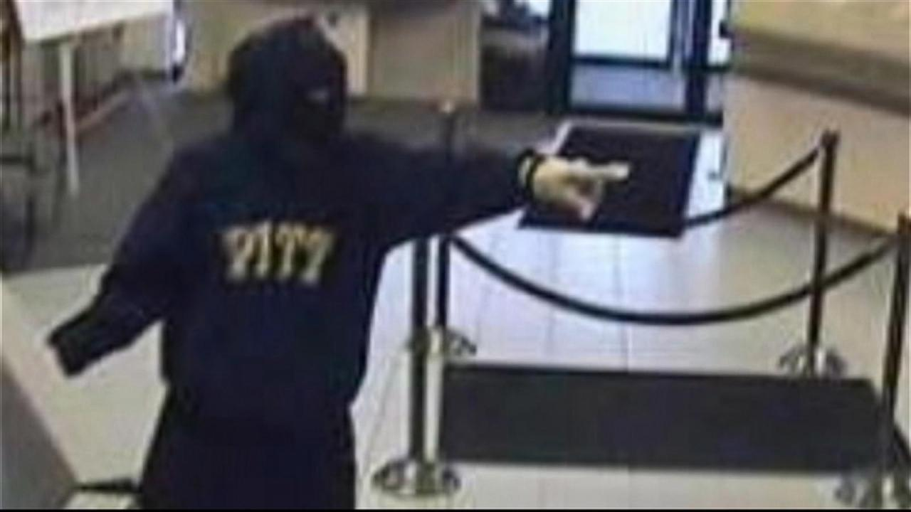 FBI Hunting Violent Pittsburgh Area Bank Robbers