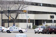 Police vehicles pictured in the western Canadian city of Edmonton, Alberta, in 2009. Three employees of an armored car company were shot dead and a fourth person was wounded early Friday at the University of Alberta in Edmonton, according to local media