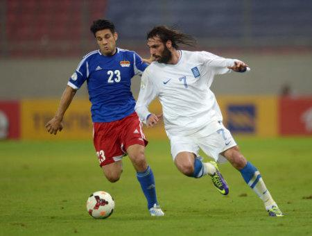 Soccer - FIFA 2014 World Cup - Qualifying - Group G - Greece v Liechtenstein - Karaiskakis Stadium