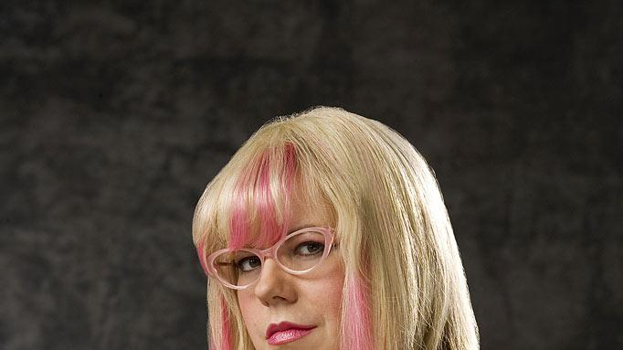 "Kirsten Vangsness as Penelope Garcia in ""Criminal Minds."""