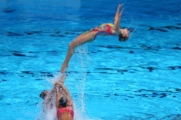 Synchronized Swimming - 15th FINA World Championships: Day Four
