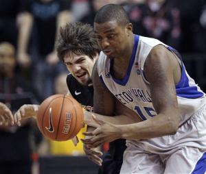 Theodore leads Seton Hall over Rutgers 59-54