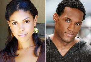 Karla Mosley, Lawrence Saint-Victor | Photo Credits: CBS
