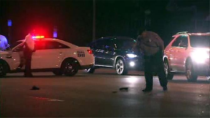 Witness: Woman struck by 2 hit-and-run drivers in Logan