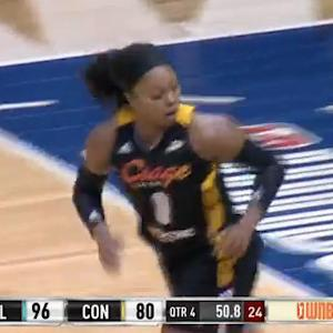 Odyssey Sims' Career-high vs Connecticut Sun