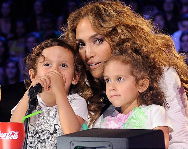 Jennifer Lopez Twins American Idol