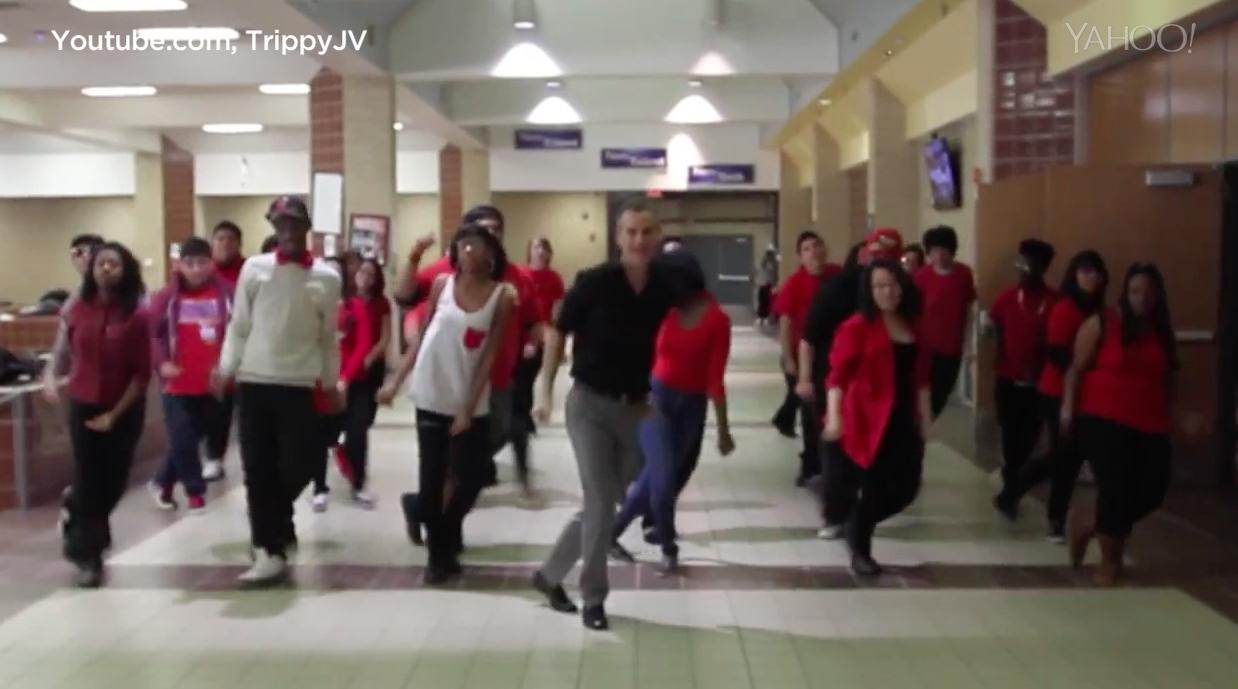 Teacher and students create incredible 'Uptown Funk' video