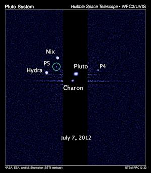 Should Pluto's 5th Moon Make It a Planet?
