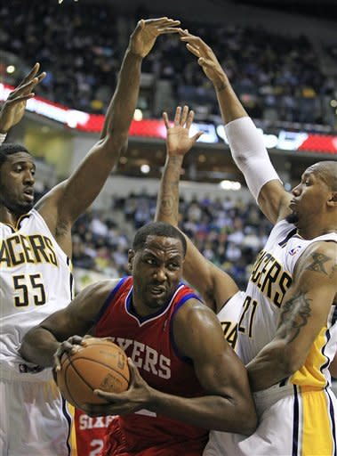 Brand leads 76ers past Pacers 109-106 in OT