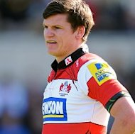 Freddie Burns kicked 19 points for Gloucester