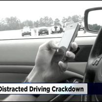 Police To Crack Down On Distracted Drivers