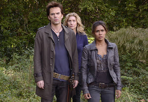 Billy Burke, Elizabeth Mitchell, Daniella Alonso | Photo Credits: Brownie Harris/NBC