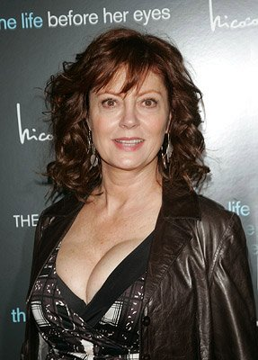 Susan Sarandon at the New York premiere of Magnolia Pictures' The Life Before Her Eyes